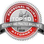 2018 Attorney and Practice Magazine Badge