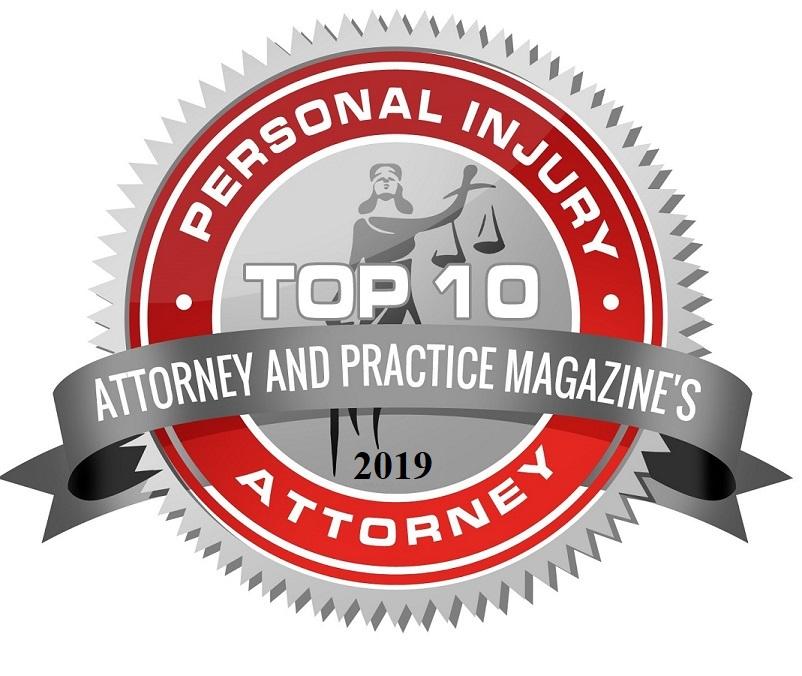 2019 Attorney and Practice Magazine Badge