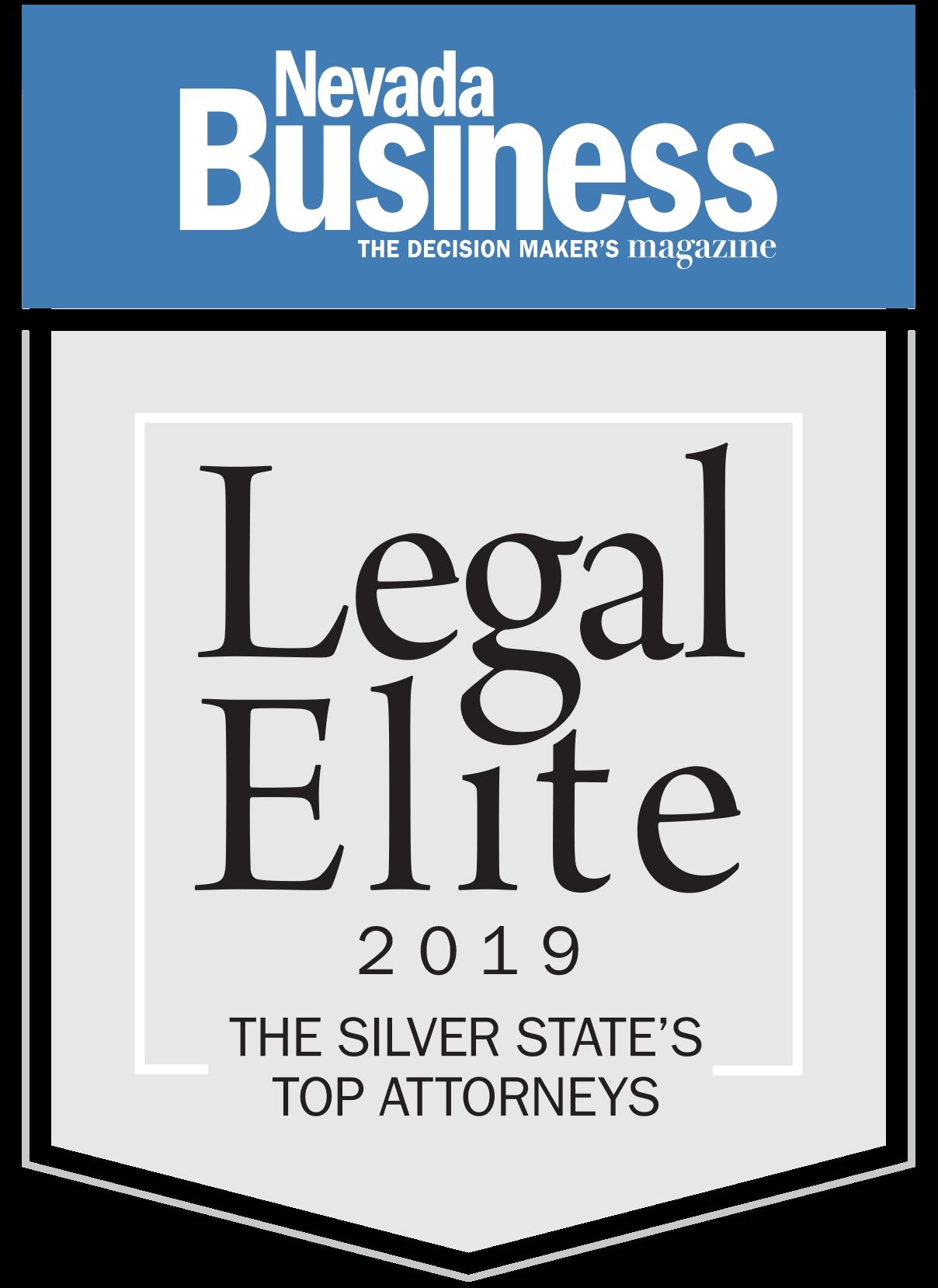 Legal Elite Badge 2019