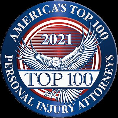 Top 100 Personal Injury Logo 2021