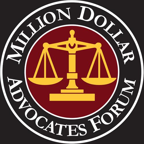 Million Dollar Advocates Forum Justin Randall